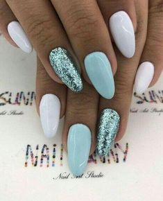 Nails 2018 40 Easter Nail Art Designs and Ideas 2018 Colorful Nail Designs - 40 Easter Nail Art Designs and Ideas 2018 Bright Summer Nails, Cute Summer Nails, Nail Summer, Spring Nails, Summer Shellac Nails, Summer Nails 2018, Pink Summer, Style Summer, Summer Colors
