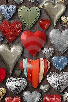 heart shape things | Heart Shaped Metal Things