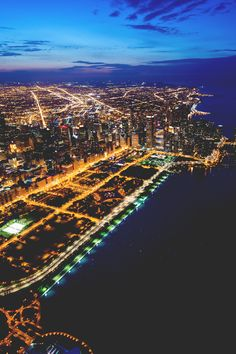 Chicago at 30.000ft