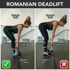 STOP IGNORING ROMANIAN DEADLIFT. Do Not Confuse Romanian with Stiff Leg Deadlifts Separating Romanian deadlifts from sumo and conventional is pretty easy. The big difference is that the weight never goes fully to the ground, which is one reason why stiff legged deadlifts are different from Romanian as well. First, as mentioned Romanian style does not touch the floor. Second, the Romanian style for deadlifting uses a bent knee during