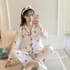 All Seasons Long Sleeve Silk Pajamas Suit Women Lounge Pajama Sets Silk  Satin Pijama Sleepwear Pyjamas the Maximum Body 5XL 4a7b480c8
