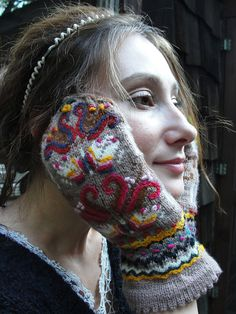 Ravelry: Mittens from Mother pattern by Galina Carroll