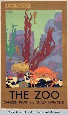 1930s The London Zoo aquarium