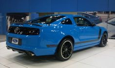 Mustang GT 2014 Grabber Blue