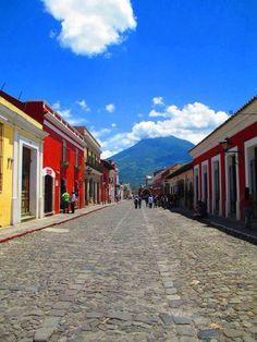 La hermosa Antigua Guatemala