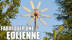 Fabriquer une éolienne !