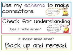 Reading strategy cards for CAFE - Down Under Teacher - TeachersPayTeachers.com