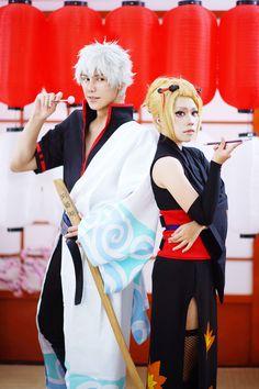 銀魂 - sansin(SANSIN) Gintoki Sakata, Lee D(Lee D) Tsukuyo Cosplay Photo - WorldCosplay