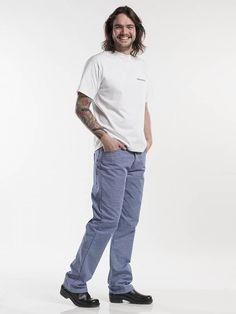 Chaud Devant Kokspantalon Jeans Basic Blue (CHA195)