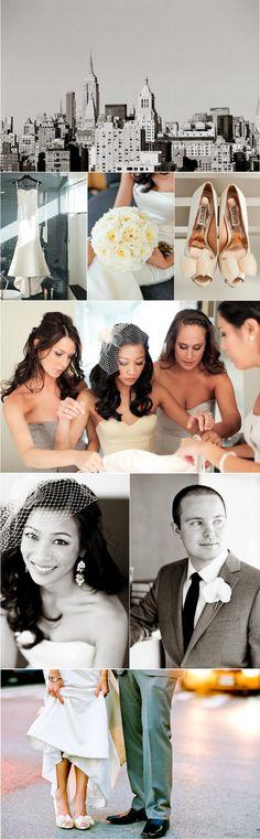 Bridal details at Downtown wedding in New York City #acitywedding #city #wedding