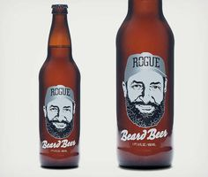 Rogue Beard Beer is Made From Brewmaster John Maier's Beard Yeast #craftbeer trendhunter.com