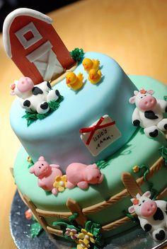 Farm Cake by Pastrychik, via Flickr