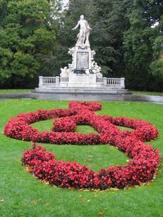 Mozart's Statue, Vienna.