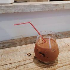 ドモーリのチョコレートドリンク。おいしかつた! #domori #chocolate #chocolatedrink