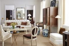 Chic neutral living