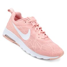O Tênis Nike Air Max Motion Lw Feminino Pink e Branco traz uma ... 8d070eb0cf080