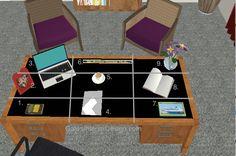 How to feng shui your desk | GatesInteriorDesign.com
