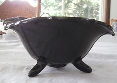 mt pleasant black amethyst bowl 14.99 ebay