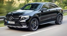 Neue Mercedes-AMG GLC 43 4MATIC Coupe peppt Dinge mit Bi-Turbo V6 AMG Featured Galleries Mercedes Mercedes GLC Coupe New Cars Paris Auto Show
