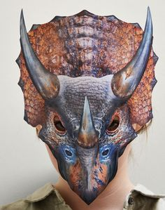 Triceratops Mask