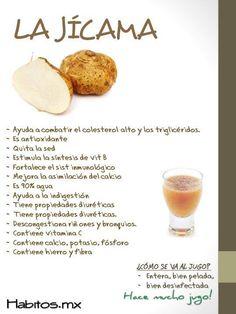 Beneficios de la jícama :)
