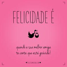 É muita alegria!   felicidade, amigas, gravidez, bebê, gestante, happiness, baby, mom, friends, best friends, pregnancy 