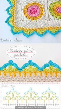 crochet border :: Dada's place