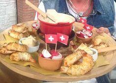 """Cuochi per caso...o per forza!!: """"Fondue Suisse"""" con cannoncini di gamberi da La Pr..."""