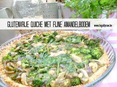 Glutenvrije quiche met fijne amandelbodem