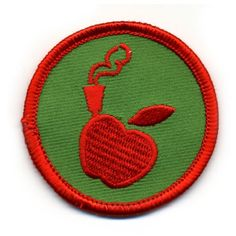If you can make a bong out of an apple, then you deserve this merit badge.  cute.