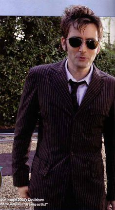 David Tennant behind-the-scenes of Doctor Who David Tennant, Tenth Doctor, Doctor Who, Guardians Of The Universe, Rose And The Doctor, Watch Doctor, Bbc America, Hipster Man, Shy Girls