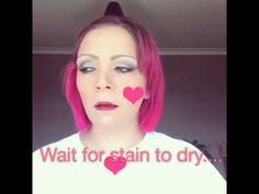 Stiff upper lip stain in sultry - YouTube