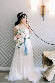 This vintage inspired strapless wedding dress featured a strapless neckline. The lace detail and colorful bouquet was perfect for a spring wedding day. Boho Bride, Boho Wedding Dress, Wedding Dresses, Wedding Colors, Wedding Styles, California Wedding Venues, Spring Wedding Inspiration, Festival Wedding, Wedding Planner