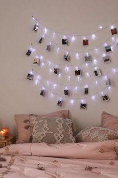 Fantastic led string lights decor girls bedroom 00030 ~ Home Decoration Inspiration Teen Girl Bedrooms, Teen Bedroom, Dream Bedroom, Diy Bedroom Decor, Home Decor, Bedroom Ideas, Master Bedroom, Bedroom Furniture, Bedroom Curtains