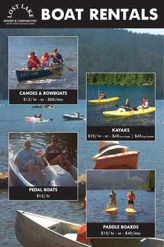 Boats | Lost Lake Resort & Campground | Hood River, Oregon