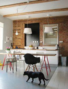 Cocinas rústicas, industriales y muy personales - Decoracion - EstiloyDeco