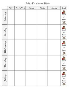 This is an extremely easy lesson plan template made in Microsoft Word. This document allows you to easily edit and format it to fit your own classr...