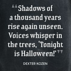 14 Super Spooky Halloween Quotes