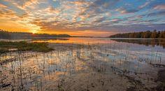 Krajobraz Finladii