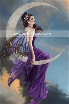 Moon Amethyst  ~ by Nene Thomas
