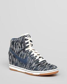 Nike High Top Lace Up Sneakers - Women's Dunk Sky Hi   Bloomingdale's