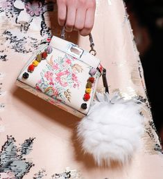 Fendi's Lovely Spring 2017 Bags Bring Softness to the Brand's Abundant Accessories