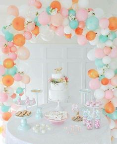 b5f849c16 Searching for girly party ideas? Kara's Party Ideas presents a Floral  Rainbow Glam Unicorn Birthday Party filled with gorgeous ideas!