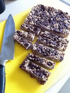 home made muesli bars - easy and delicious