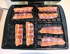 14 Ways To Cook Bacon! Including My Favorite – In The Waffle Maker