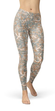 66a274e976 Show your support for the military with these Camouflage UCP-D Pattern Camo  Leggings.