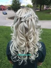 braid hairstyles with weave Half Up - Hairstyles For All French Braid Hairstyles, Braided Hairstyles For Black Women, Natural Hair Styles For Black Women, Up Hairstyles, Wedding Hairstyles, Loose French Braids, Loose Braids, Small Braids, Waterfall Braid With Curls