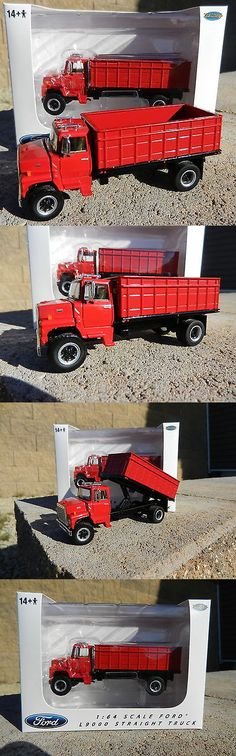 Contemporary Manufacture 156623: New 1:64 Top Shelf Replicas *All Red* Ford L9000 Grain Truck Hauler Dcp *Nib* -> BUY IT NOW ONLY: $54.99 on eBay!