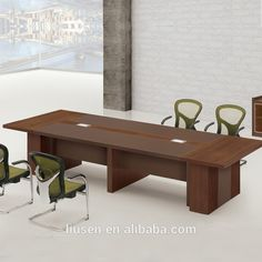 Competitive Price luxury solid wood conference table office furniture
