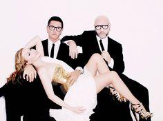 Dolce & Gabbana and Kylie.